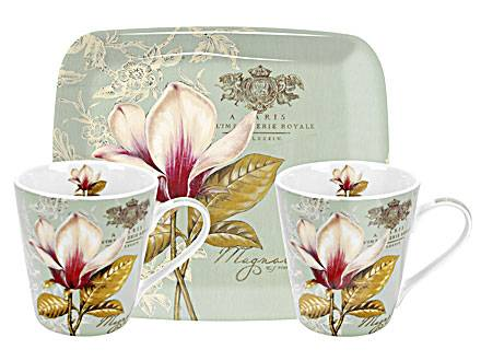 Mug and Tray Set von Pimpernel