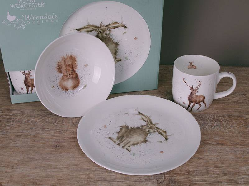 Wrendale Breakfast Set